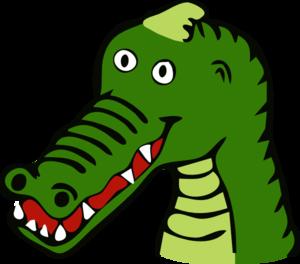 Crocodile Clip Art