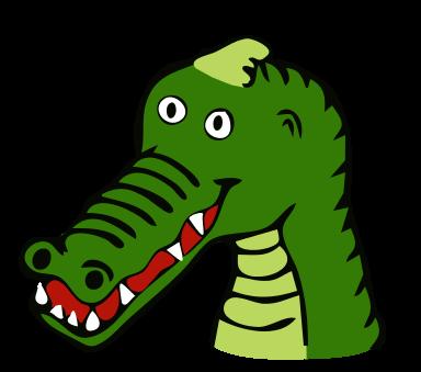 this crocodile head clip art clipart panda free clipart images rh clipartpanda com