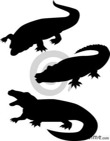 crocodile-silhouettes-7137942.jpg | Clipart Panda - Free ...