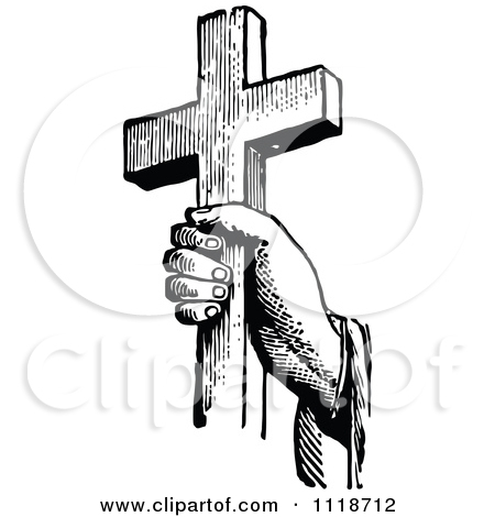 cross%20and%20praying%20hands%20clipart%20black%20and%20white