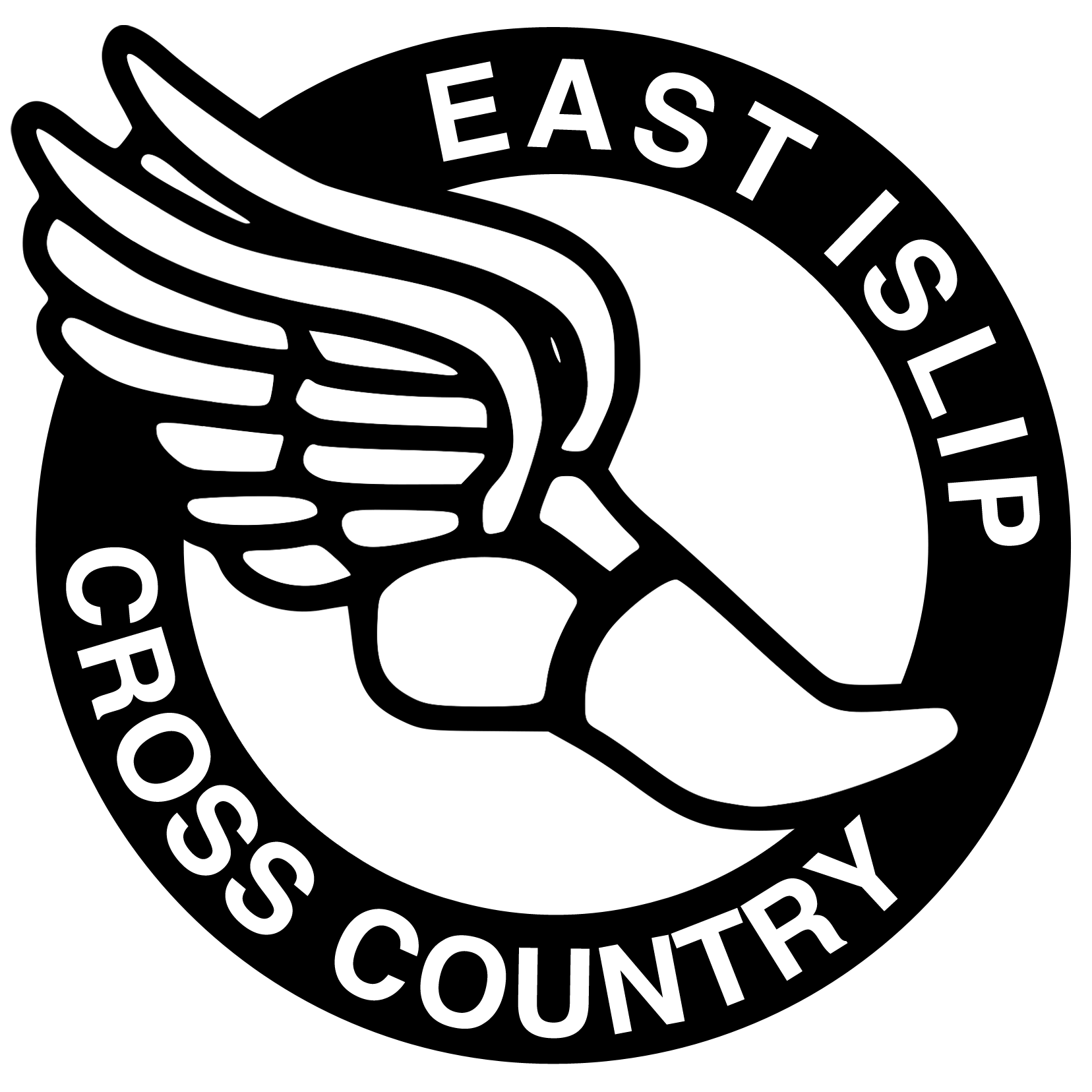 cross country running logo clipart panda free clipart