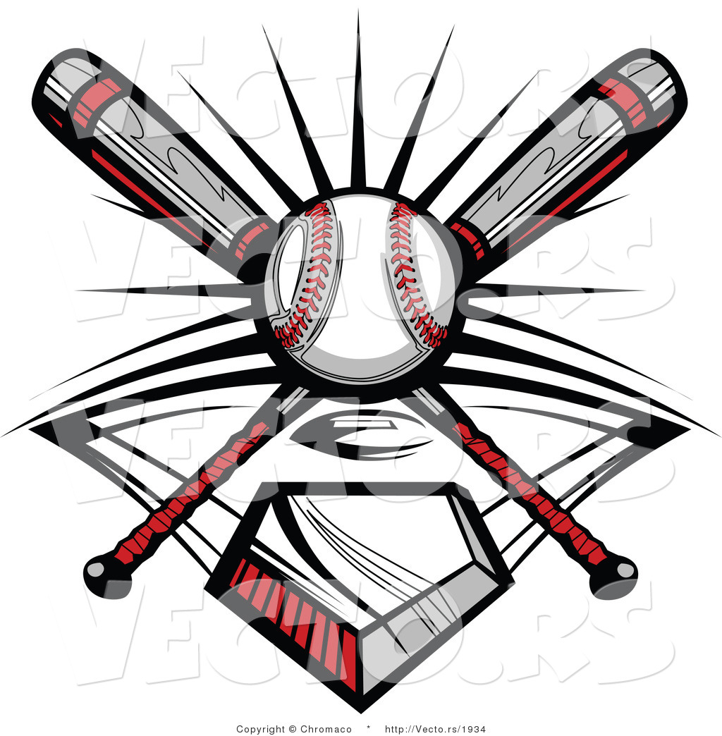 Ball And 2 Baseball Bats Clipart Panda Free Clipart Images