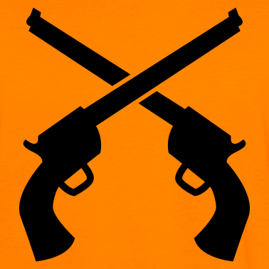 Crossed Guns | Clipart Panda - Free Clipart Images