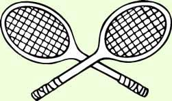 crossed tennis rackets clipart panda free clipart images rh clipartpanda com Criss Cross Tennis Racquet Tennis Racquet Clip Art