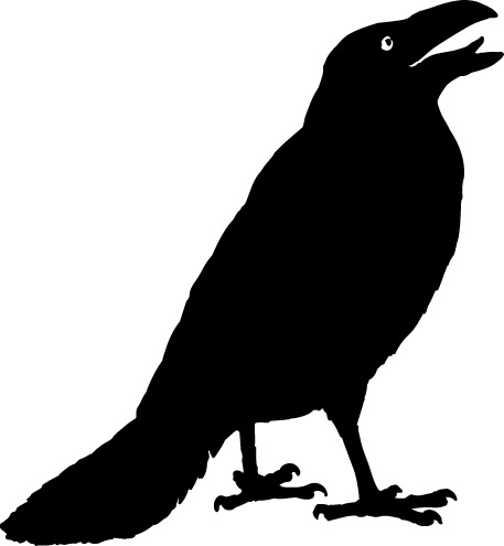 Clip Art Crow Clip Art crow clip art black and white clipart panda free images clipart