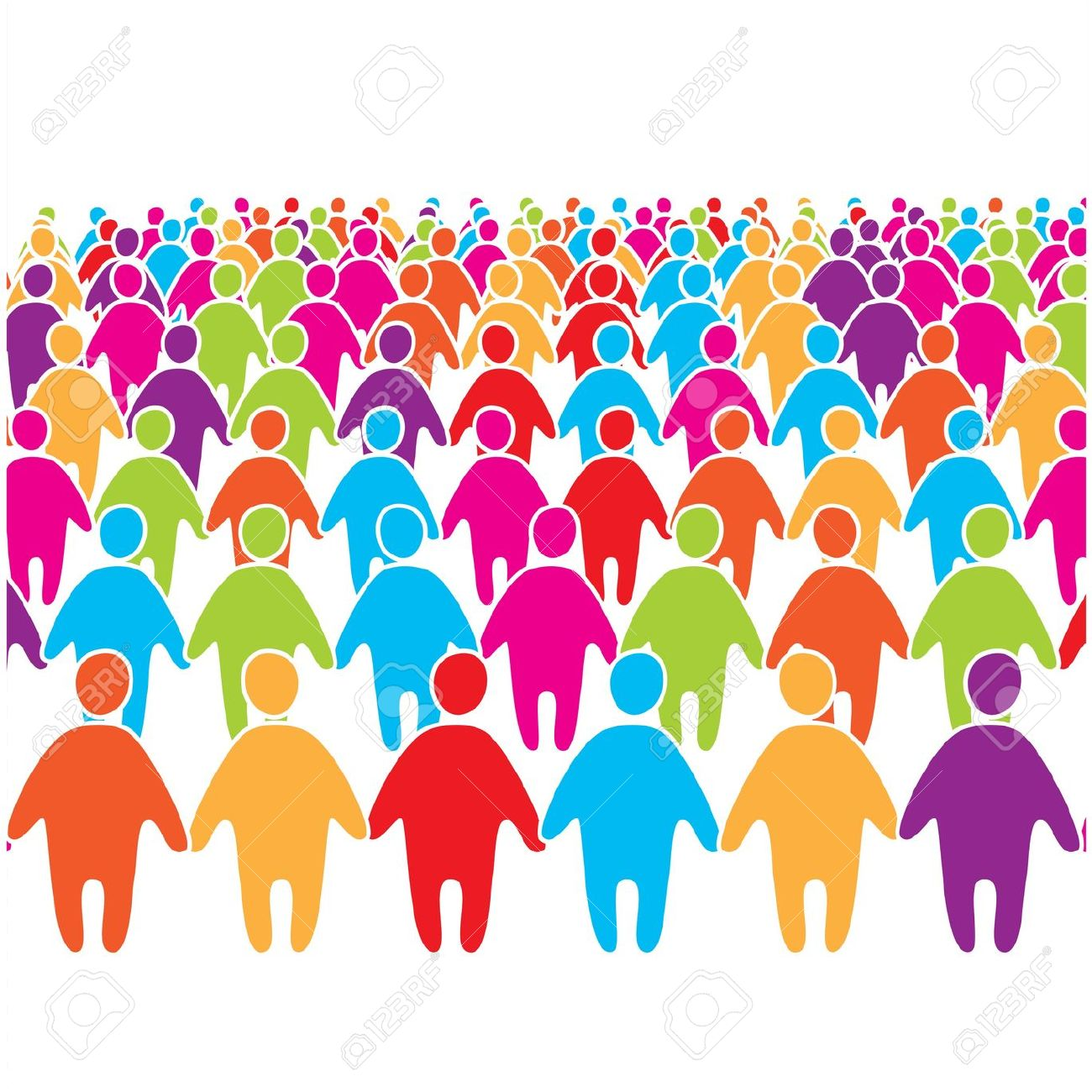 crowd clip art free images clipart panda free clipart Clip Art Cartoon Group of People Group of Business People Clip Art