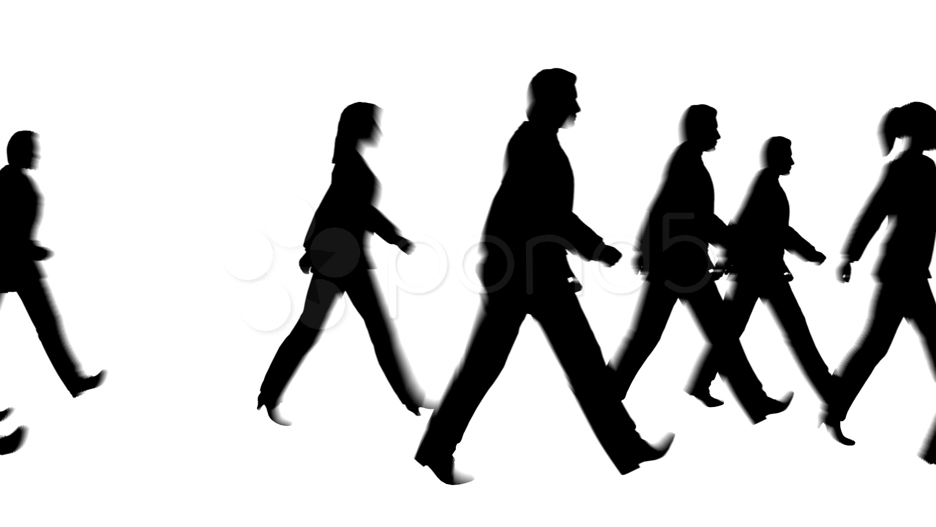 Crowd Of People Silhouette | Clipart Panda - Free Clipart Images