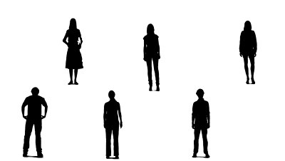 Crowd Of People Silhouette | Clipart Panda - Free Clipart ...