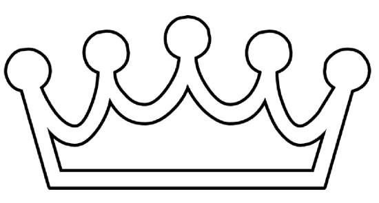 Clip Art Crown Clipart Black And White crown clipart black and white vector panda free clip art