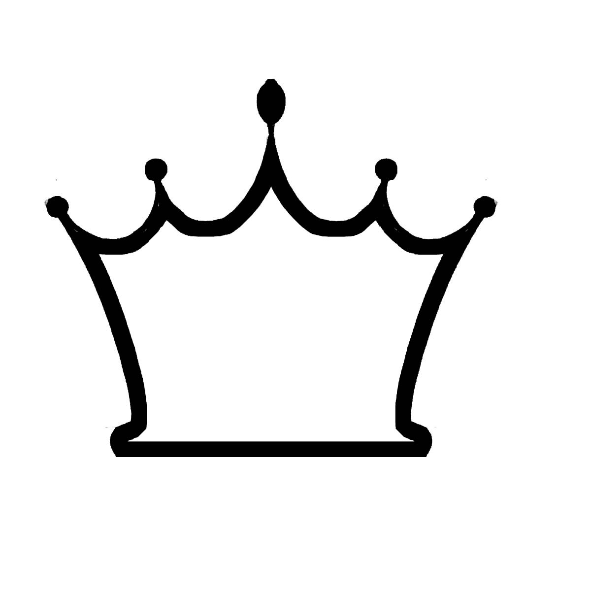 Images for gt cinderella princess clipart black and white - Crown 20clip 20art 20outline