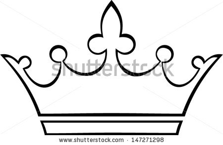 crown outline - stock vector   Clipart Panda - Free ...