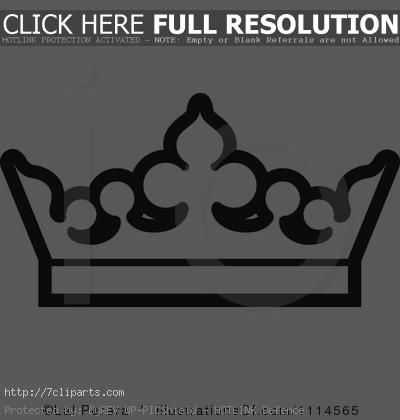 crown%20outline%20clipart