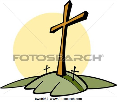 Three Crosses On A Hill Clipart Panda Free Clipart Images