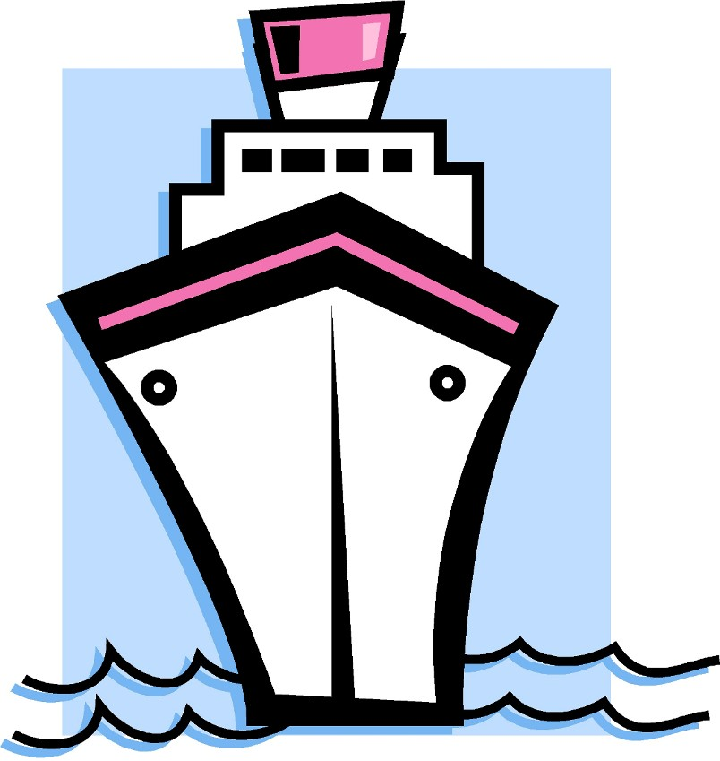 free clip art cartoon cruise ship - photo #16