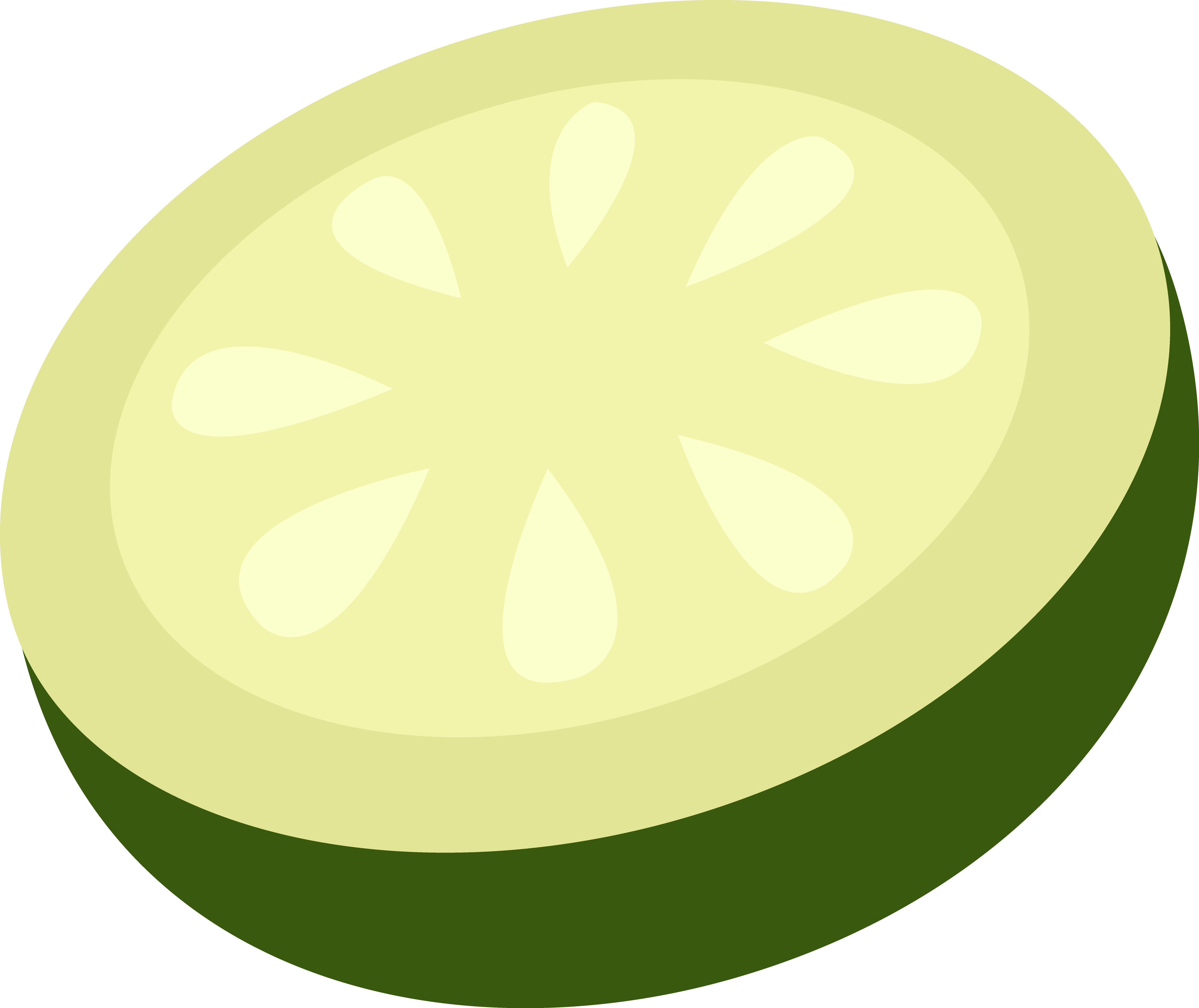 how to draw a cucumber