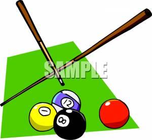 Billiards Table Clipart