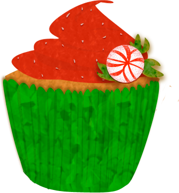 Christmas Cake Pictures Clip Art : Christmas Cupcake Clip Art by Clipart Panda - Free ...