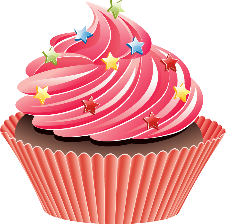 Vccp49 Vintage Cupcakes Clipart Png 4570book