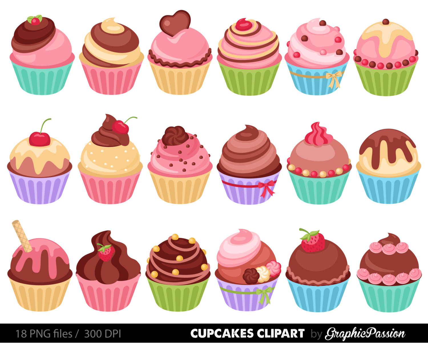 cupcake clip art outline clipart panda free clipart images