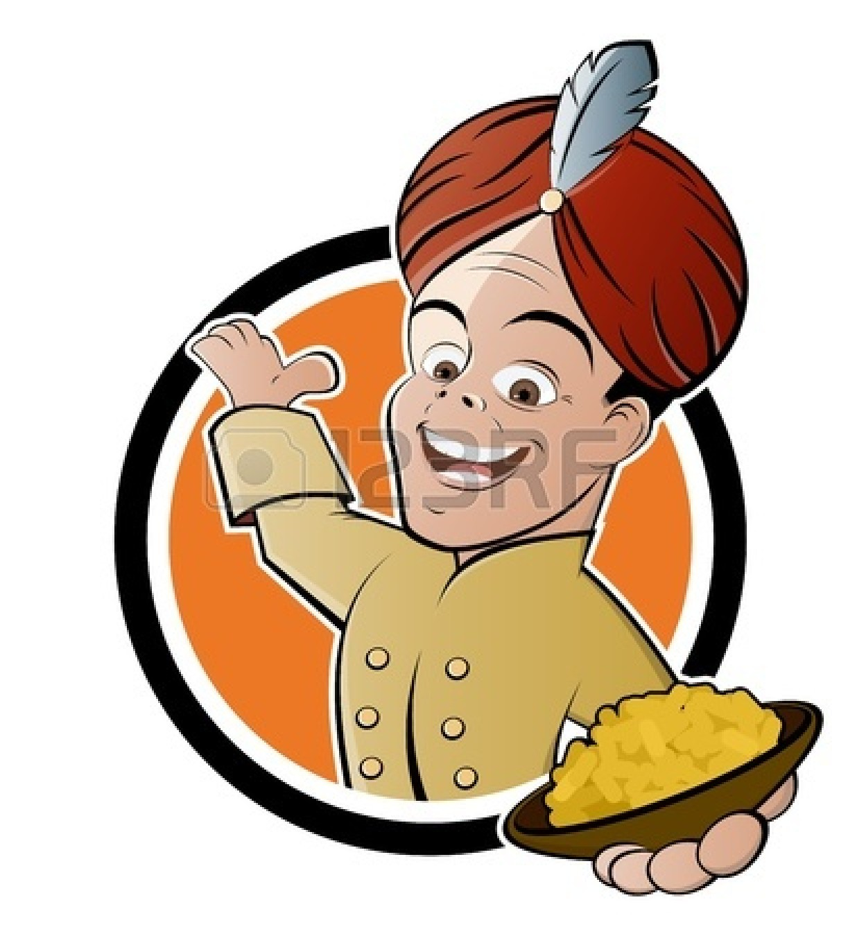 Indian Street Food Clipart