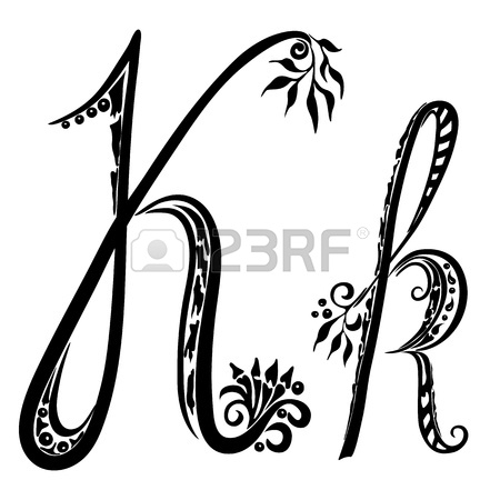 Calligraphy Alphabet Romantic K Letter K Is Calling Dibs On