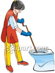 A Female Custodian | Clipart Panda - Free Clipart Images