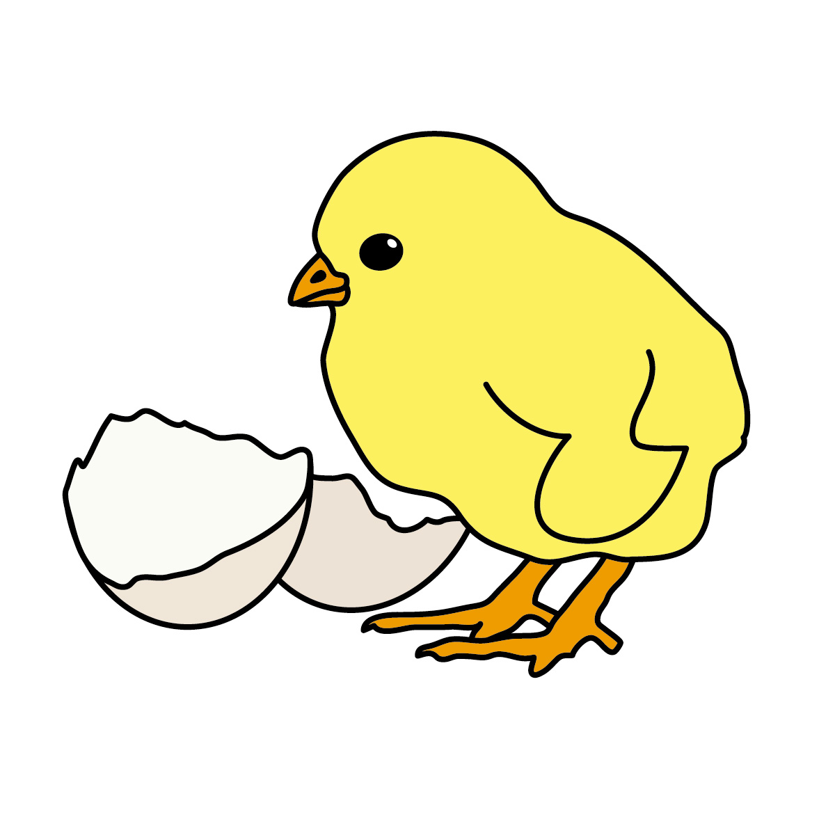 Cute Baby Chicken Clipart | Clipart Panda - Free Clipart ...