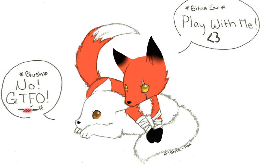 Cute Baby Fox Anime