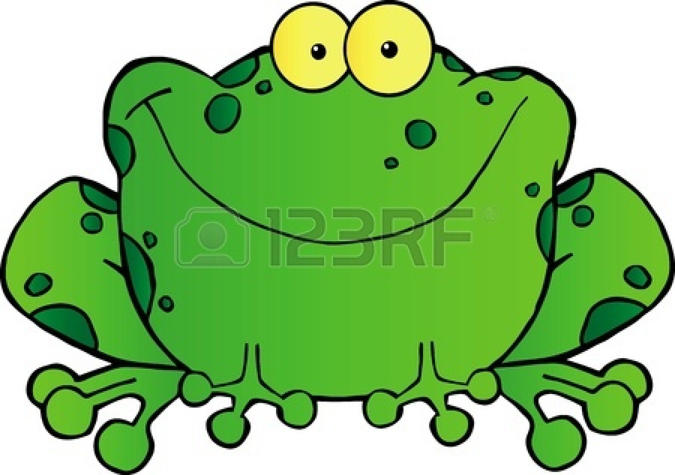 baby frog cartoon fat frog clipart panda free clipart images