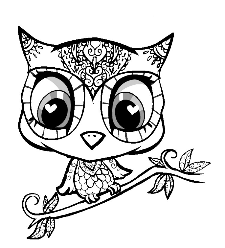 Cute Coloring Panda Page Coloring Pages