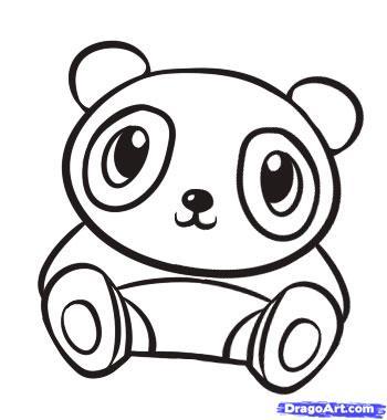 baby panda coloring pages Cute Baby Panda Coloring Pages | Clipart Panda   Free Clipart Images baby panda coloring pages