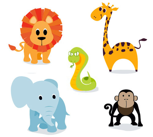 Cute Cartoon Jungle Animals | Clipart Panda - Free Clipart ...
