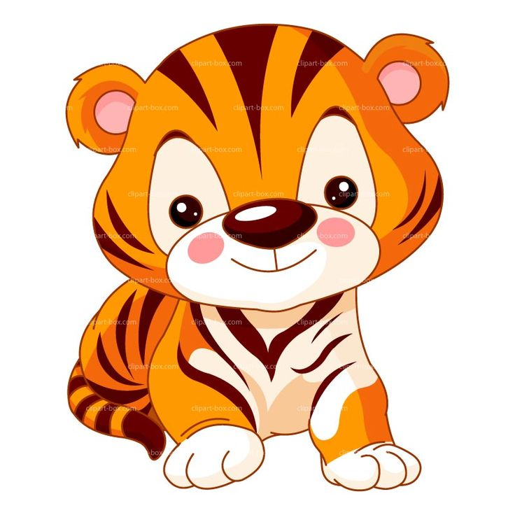 Cute Baby Tiger Clipar...