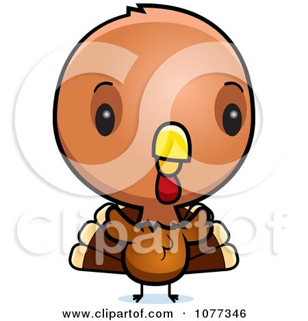 Cute Baby Turkey Bird Posters, | Clipart Panda - Free ...