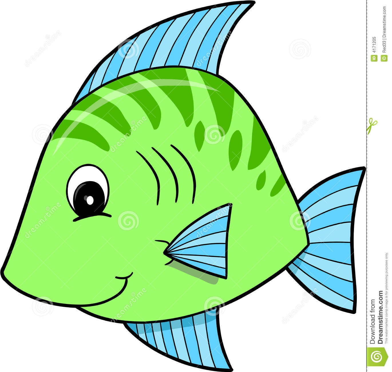 fish clipart drawing - photo #22