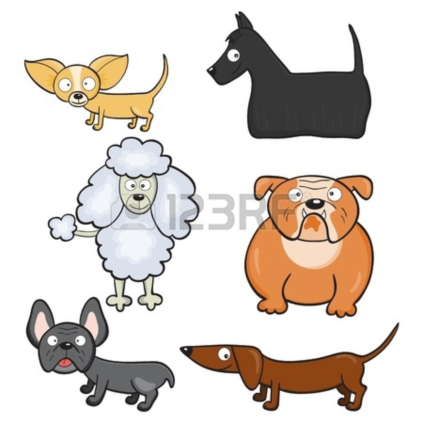 cute bulldog drawing clipart panda free clipart images Poodle Dog Clip Art french poodle clip art images
