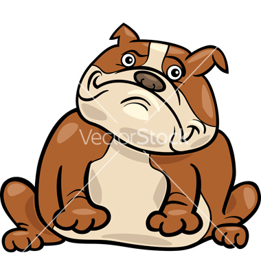 Cute english bulldog cartoon - photo#10
