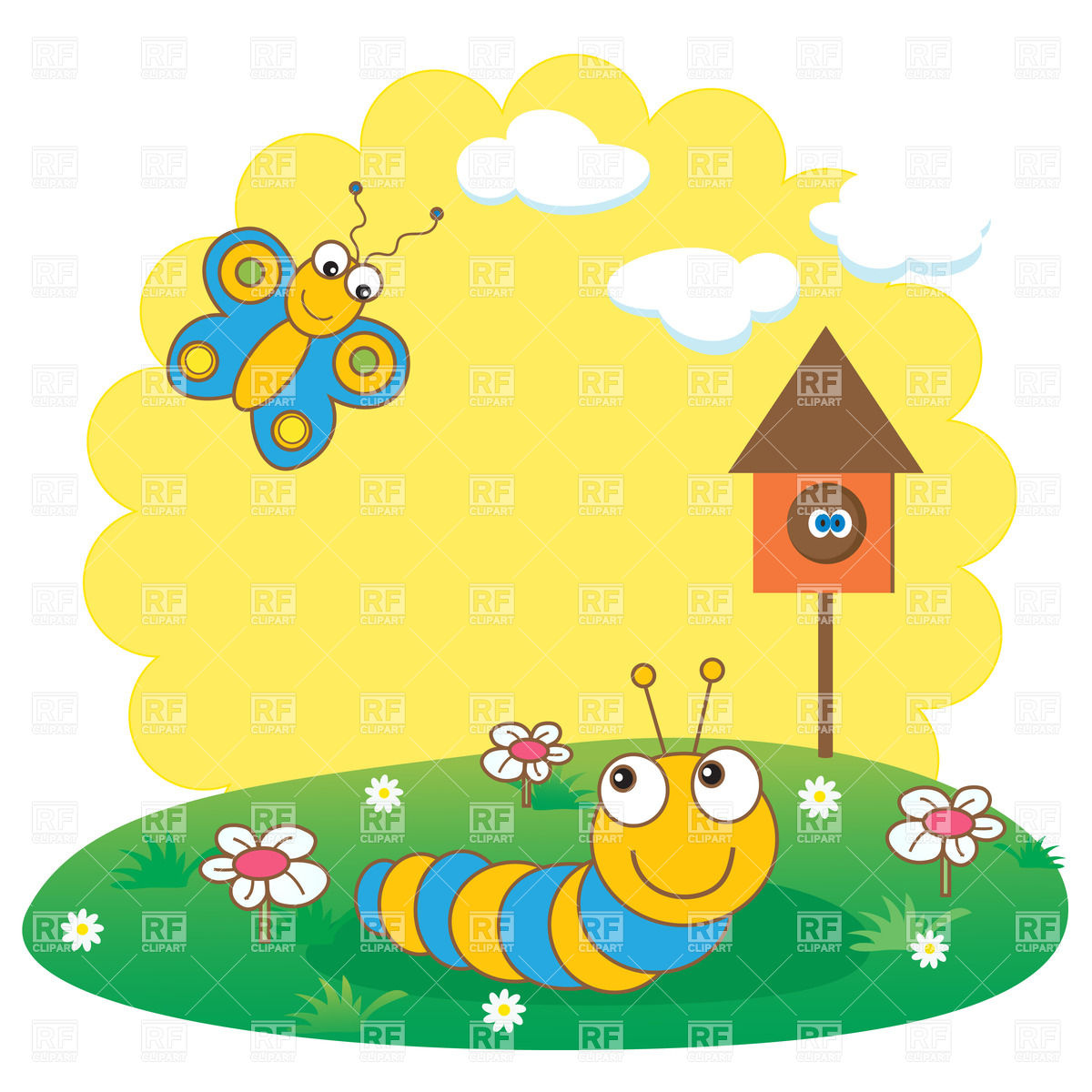 Cute Butterfly Clipart | Wallpapers Gallery