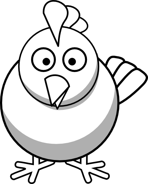 Clip Art Chicken Clipart Black And White cute chicken clipart black and white panda free