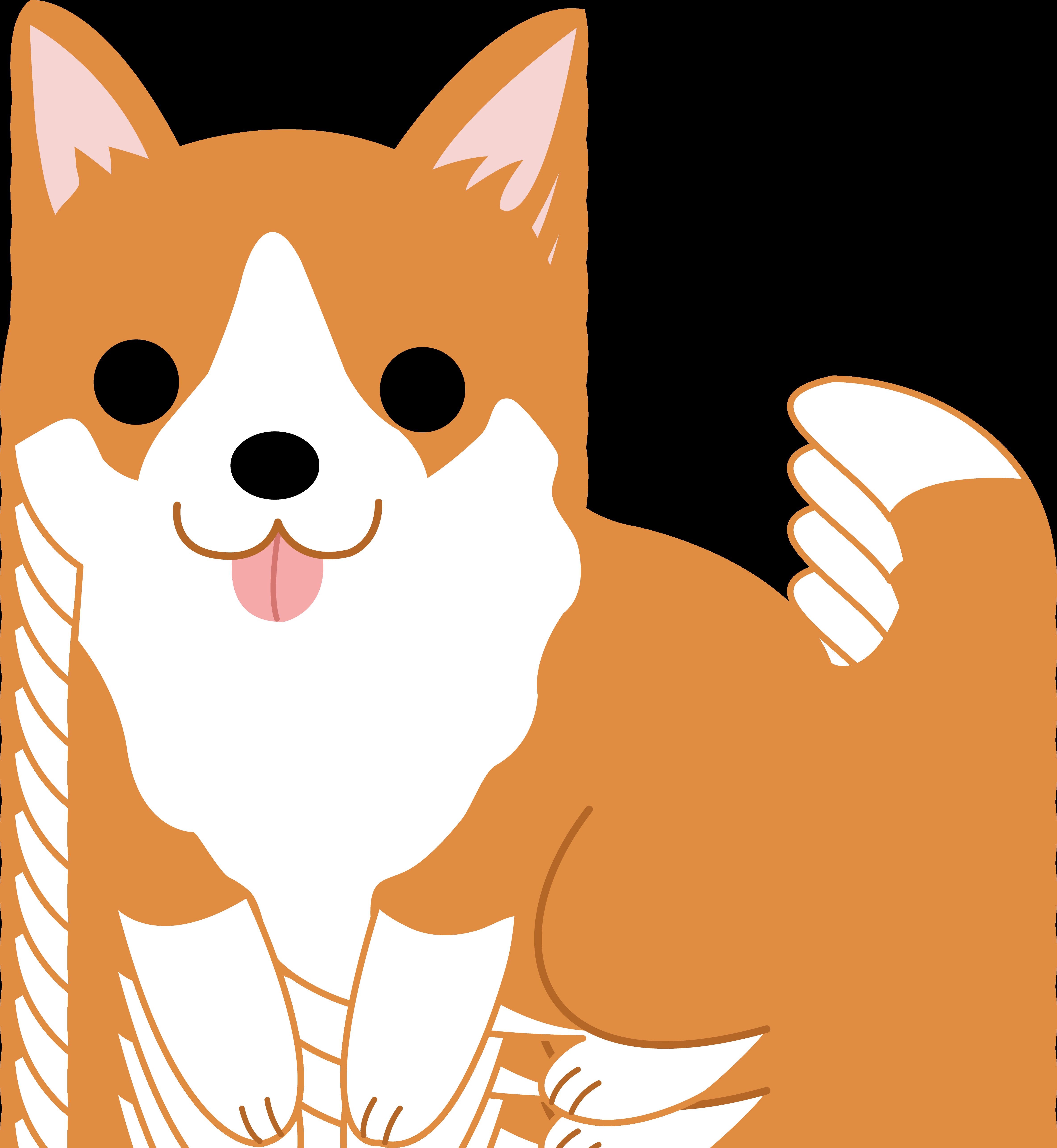 Cute Corgi Puppy Clip Art | Clipart Panda - Free Clipart Images
