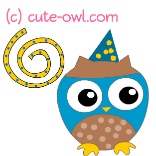 free cute party owl clip art clipart panda free clipart images rh clipartpanda com free cute owl clipart