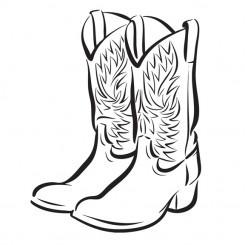cute cowboy boots clipart clipart panda free clipart images rh clipartpanda com clip art of cowboys boots and hat clipart western boots