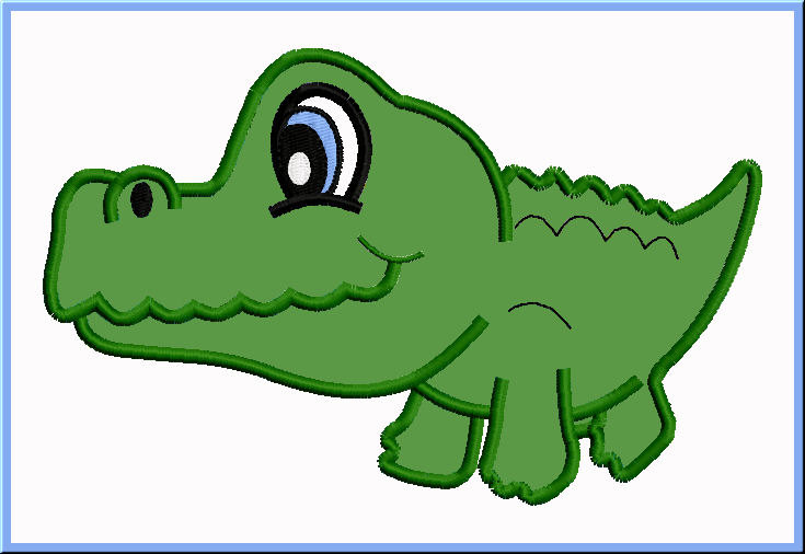Aninimal Book: Cute Crocodile Drawing | Clipart Panda - Free Clipart Images