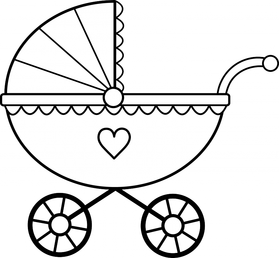 Crib Clipart Black And White Clipart Panda Free