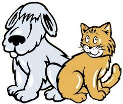 cat and dog clip art funny clipart panda free clipart images rh clipartpanda com cat and dog fighting clipart cat and dog silhouette clipart