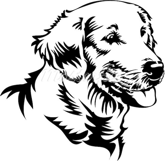Line Drawing Of A Dog S Face : Cute dog face clip art clipart panda free images