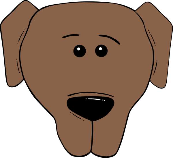 Animated Puppy Dog Face Puppy Face Outline Cute Dog