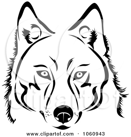 Dog Face Clipart Black And White | Clipart Panda - Free Clipart Images