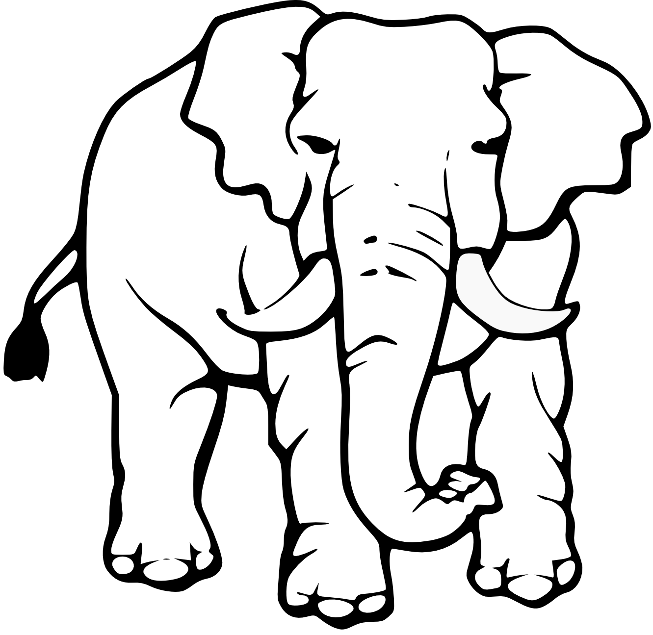 cute%20elephant%20clipart%20black%20and%20white