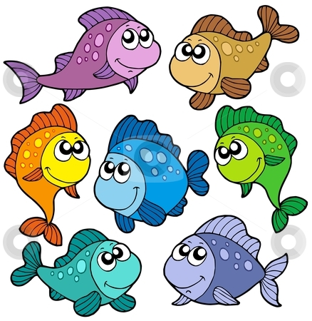 Cute fish clip art clipart panda free clipart images for What are the seven fishes